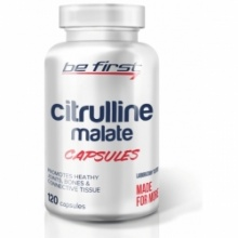 Аминокислота Be First Citrulline malate powder 120 кап